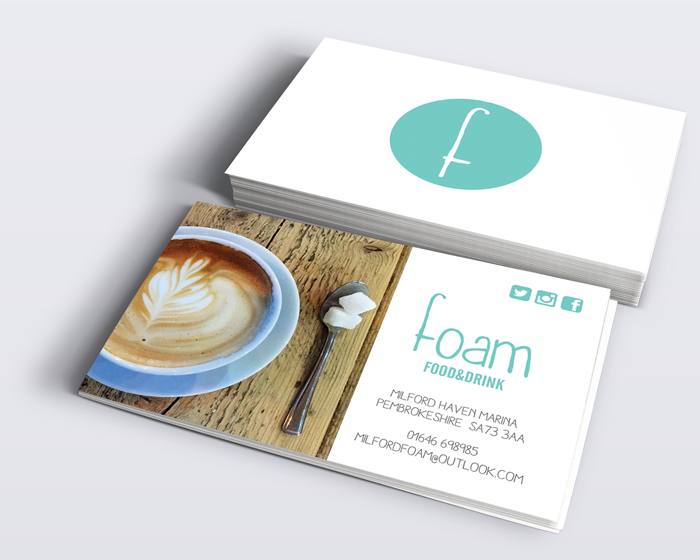 Foam Business Cards