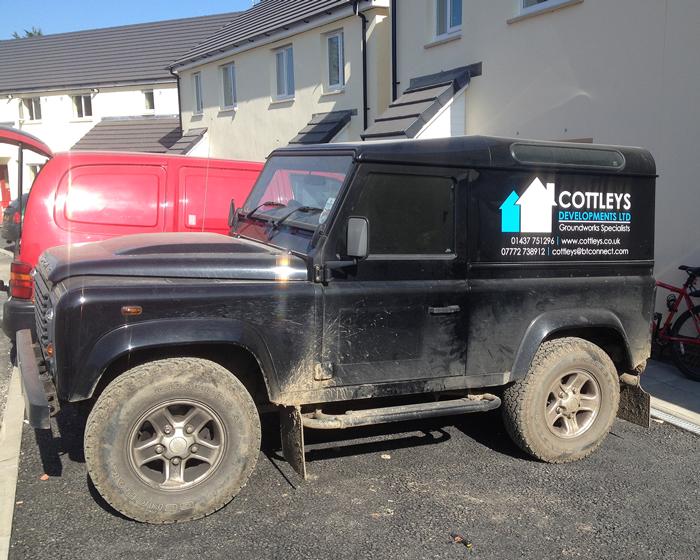 Cottleys Vehicle Signage