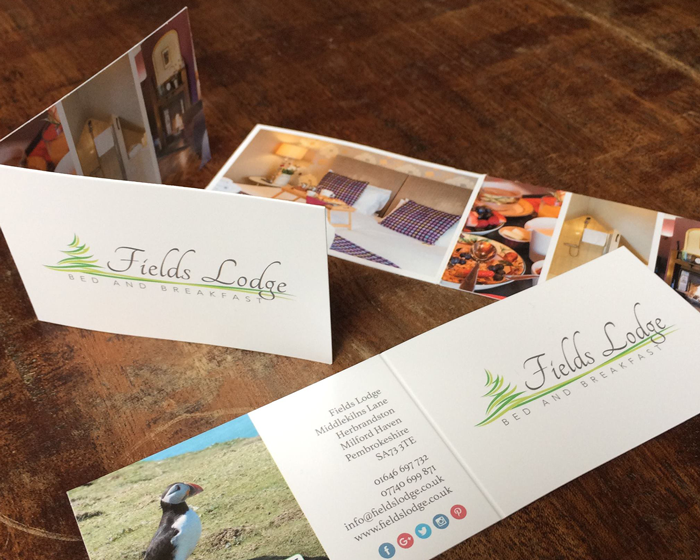 Fields Lodge Business Cards