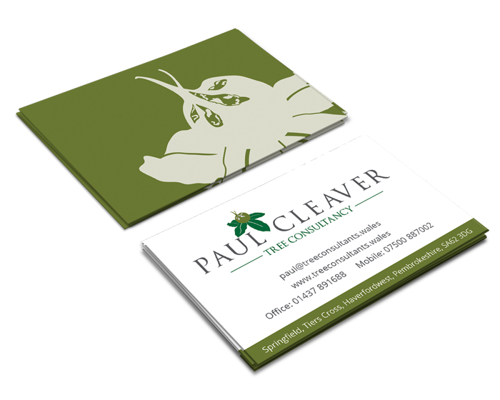 Paul Cleaver Business Card