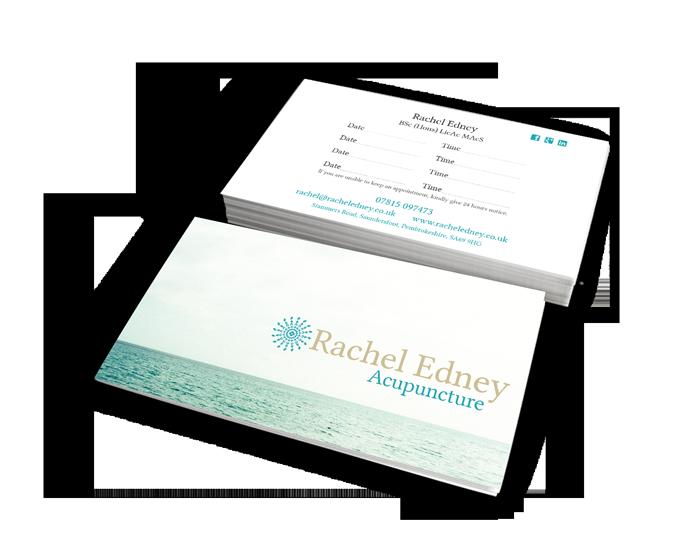 Rachel Edney Business Cards