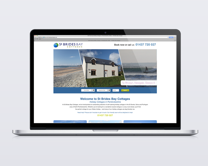 St Brides Bay Cottages Website