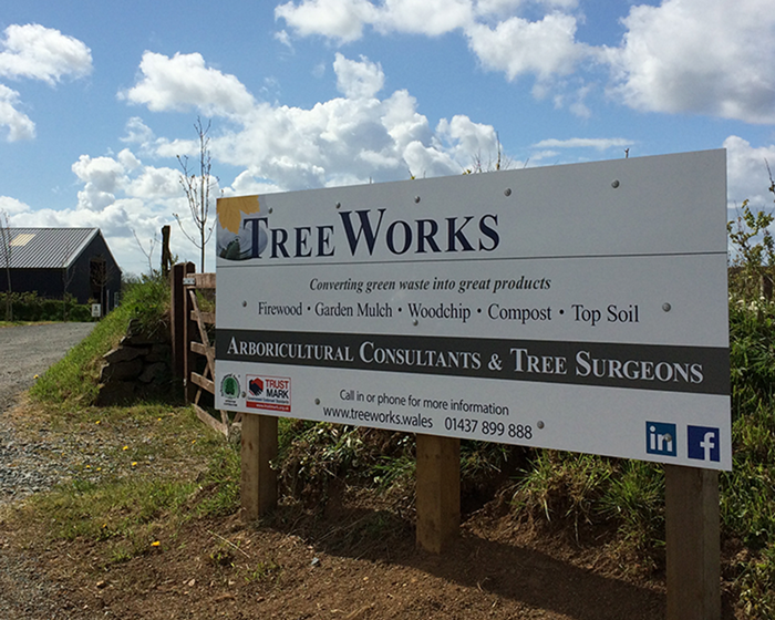 Treeworks Sign