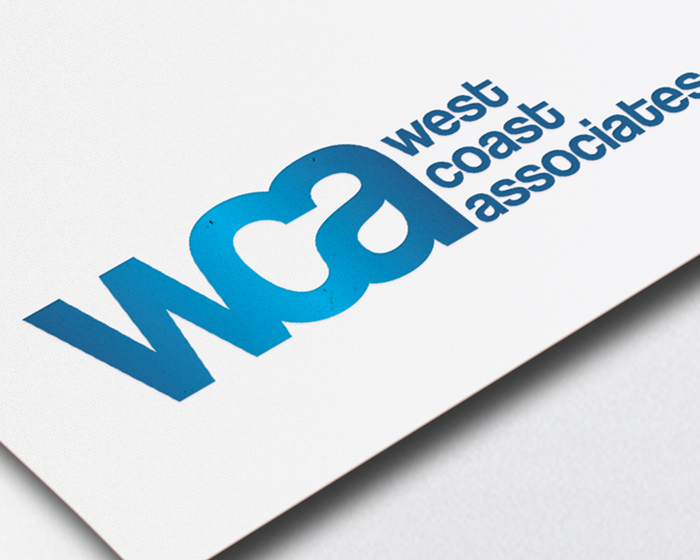 West Coast Associates Logo Design