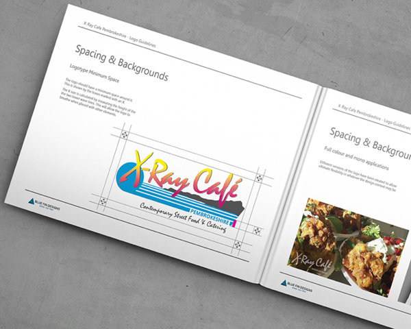 X-Ray Cafe Pembrokeshire Branding Guidelines