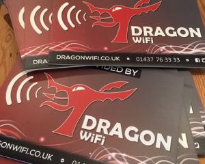 Dragon WiFi Corex Event Signs
