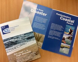Pembrokeshire Coastal Forum Printed Folders