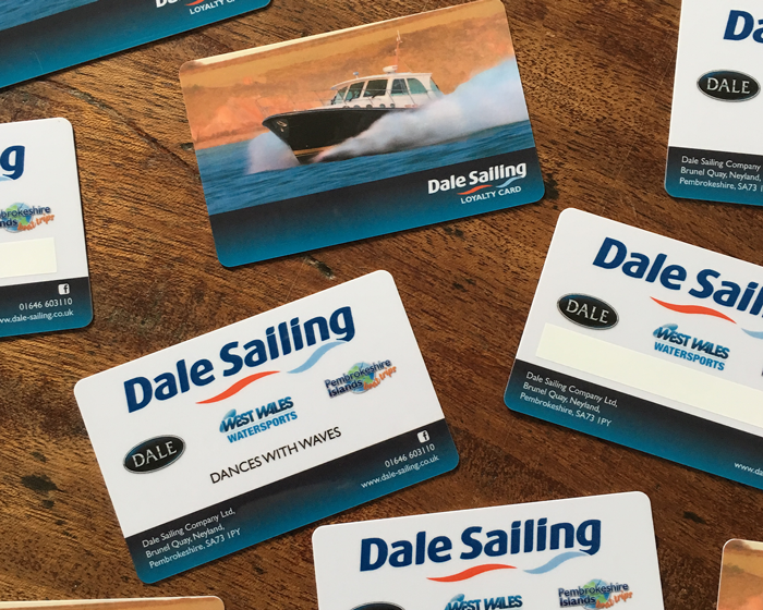 Dale Sailing Business Cards