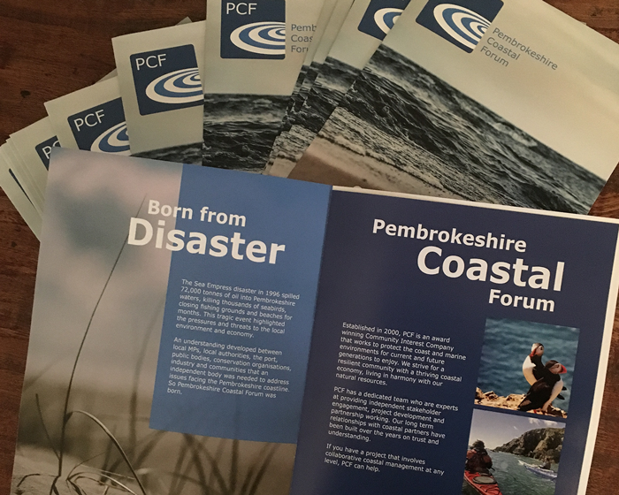 Pembrokeshire Coastal Forum Promotional Folders