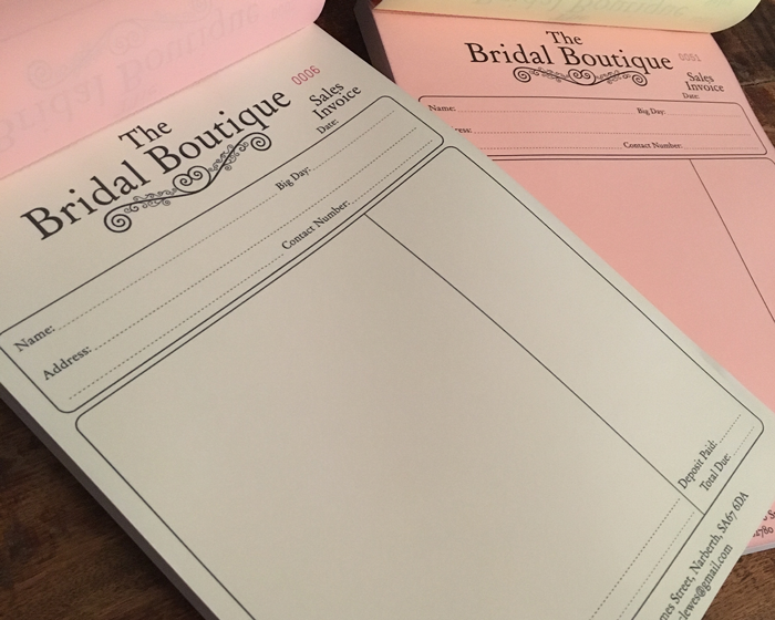 The Bridal Boutique NCR Sheets