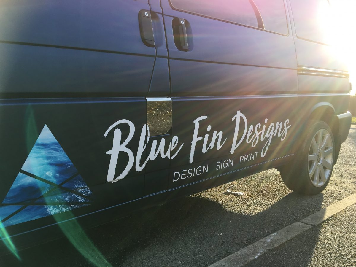 BFD full vehicle wrap and vehicle graphics